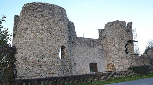 Château de Lastours en Limousin